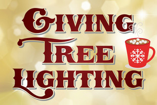 Ortega's Giving Tree Lighting tomorrow after school