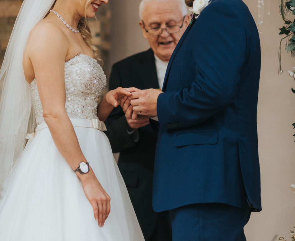 Wedding Ceremony Ring Promise