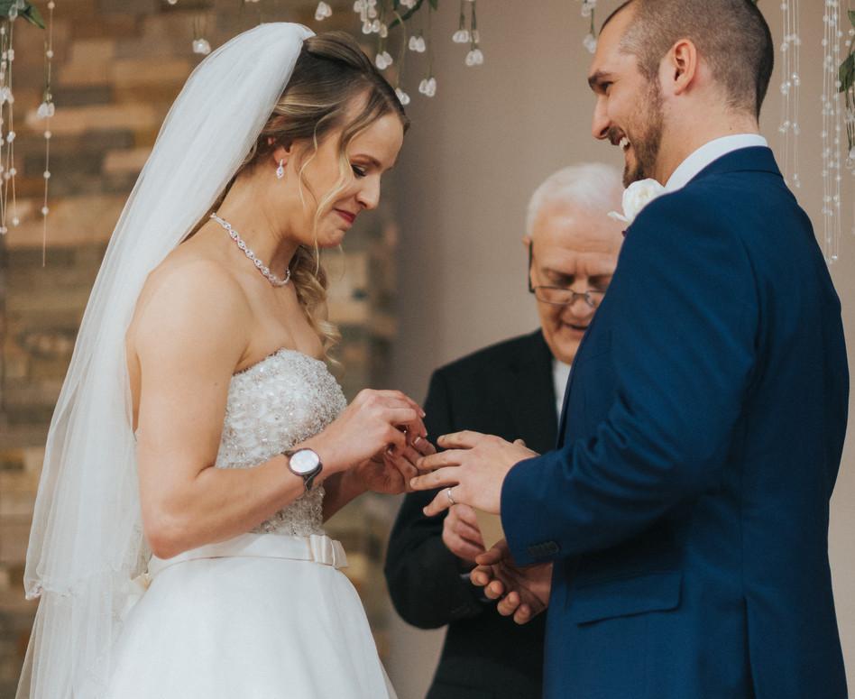Wedding Ceremony Exchange of Rings