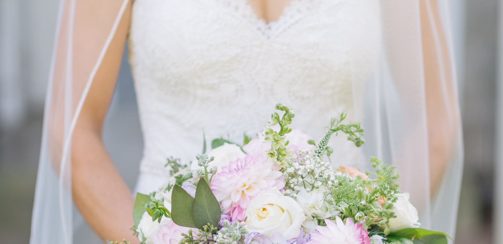 Cloud Nine Photography Pastel Blooms Bridal Bouquet