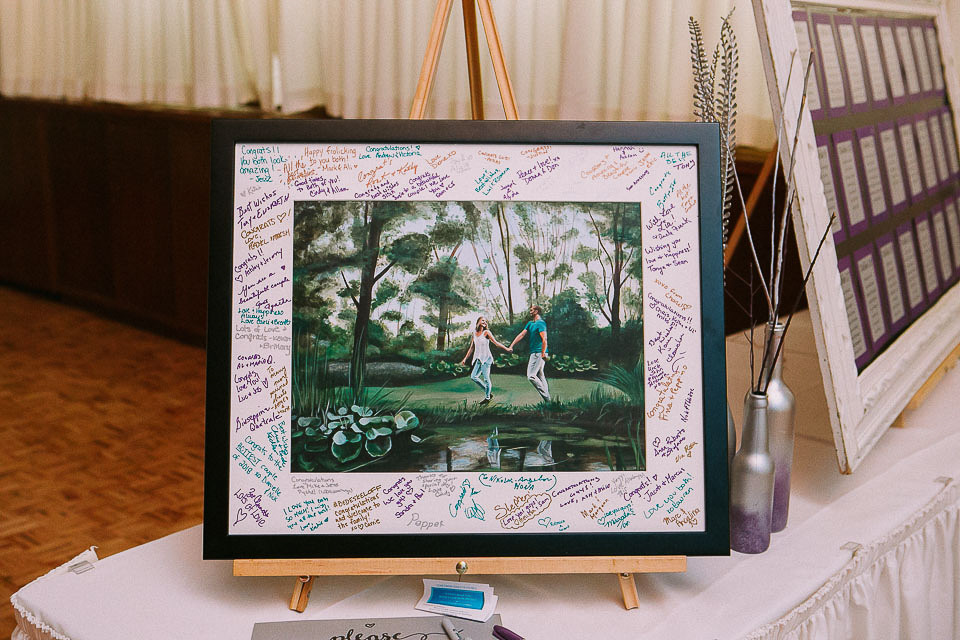 Reception Guest Book