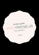 Wedpreneur Academy Member Badge 2020