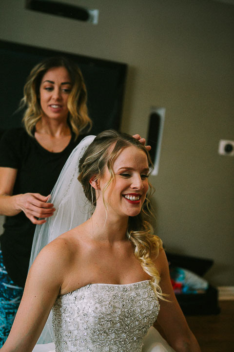 Hair and Veil Bridal Prep