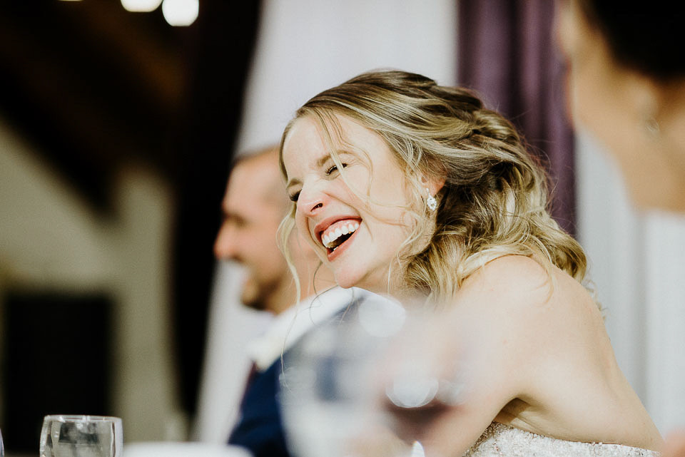 Laughter from Wedding Speech