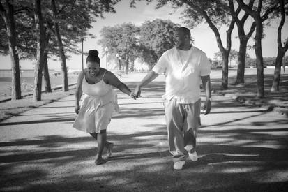 Engagement Photography Downtown Chicago Milton Olive Park