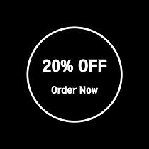20% off online order