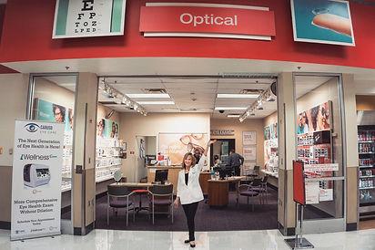 Target Optical Entrance