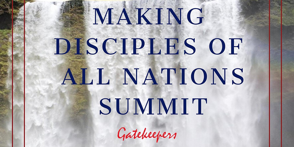 Making Disciples of All Nations (MDN) X Holy Ghost Zone Coventry Summit