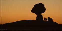 White Desert Rocks