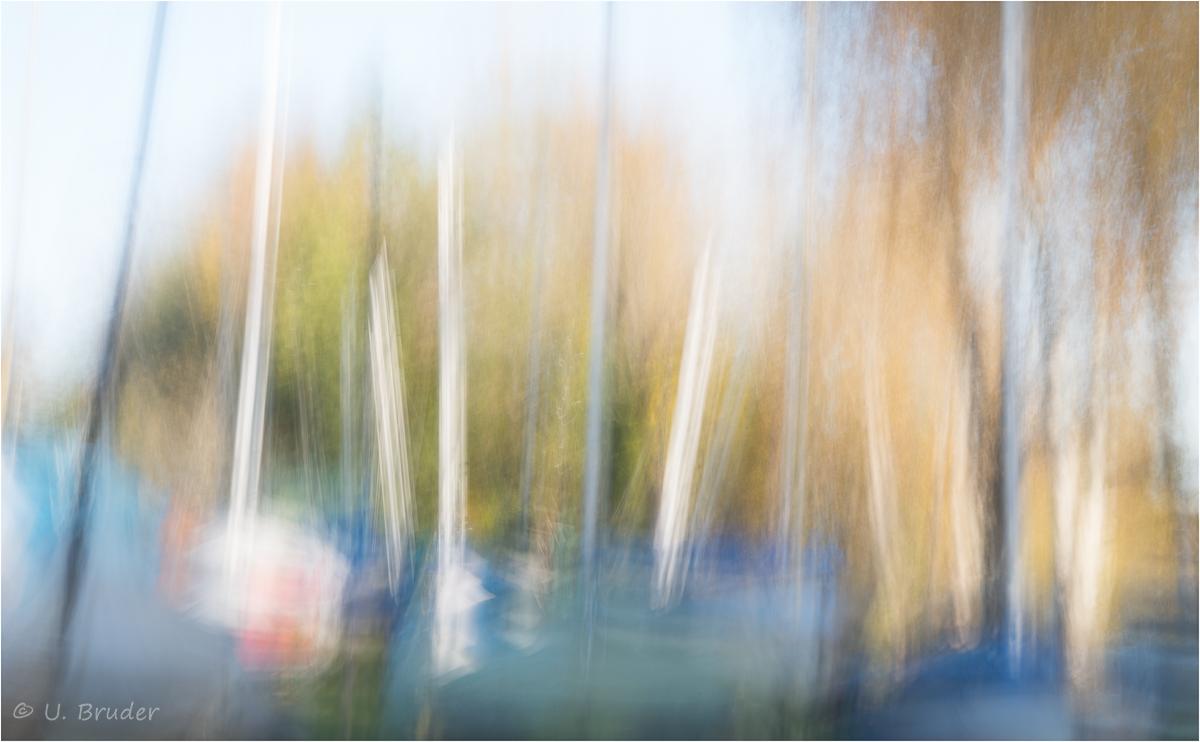 Segelboote am Staffelsee