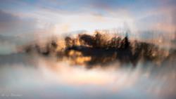Sonnenuntergang am Staffelsee