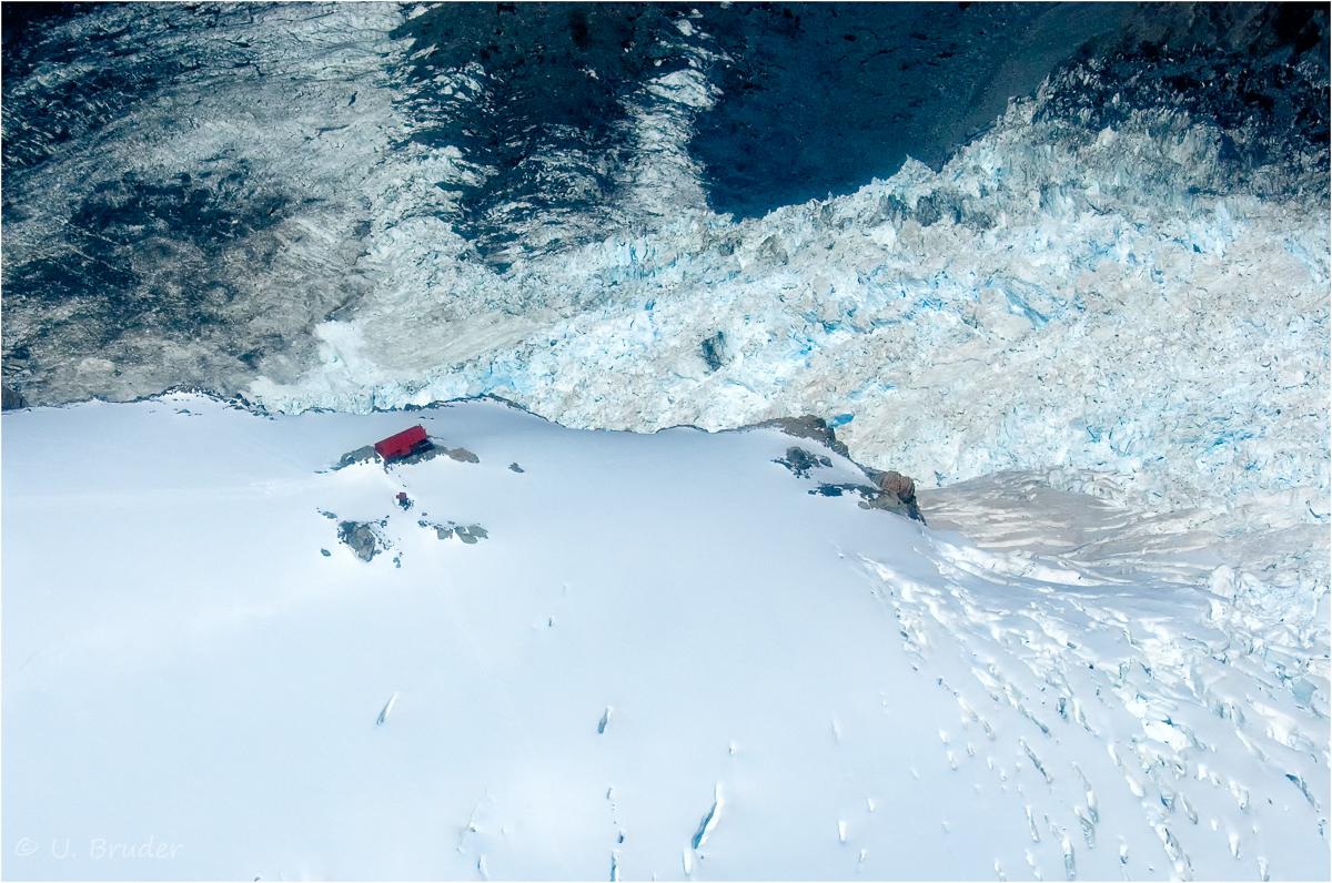 Zuflucht am Gletscher