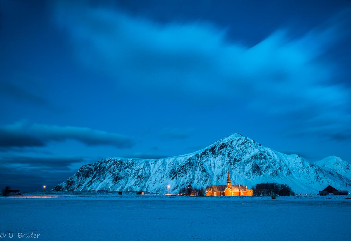 Stille Nacht, Lofoten by Night