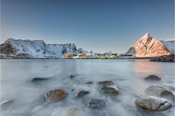 Lofoten in winter