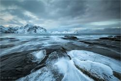 Ice on Rocks 1