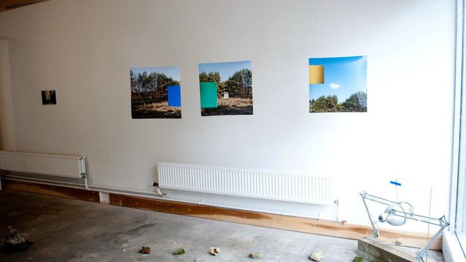 Natalia Janula, fotografia, instalacja, Utrophia Project Space, Londyn czerwiec 2012, fot. Natalia Janula