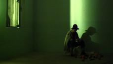 Birgit Binder jako Sancho Pansa, Działania w Pathos Transport Theatre, Monachium listopad 2005