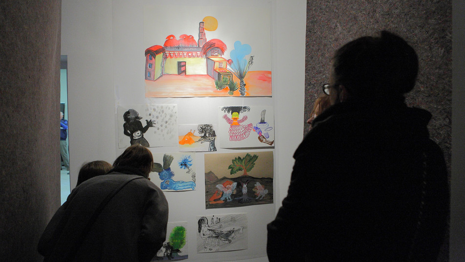 Magdalena Starska, Słońce jest najważniejsze, BWA Galeria Sztuki w Olsztynie, kwiecień 2014, fot. Waldemar Szatkowski