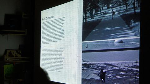Prezentacja Niecodziennika Olsztyńskiego podczas projektu Miasto w Drodze, Olsztyn 2015