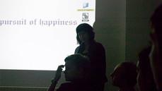 Launch projektu W Poszukiwaniu Szczęścia/ The Pursuit of Happiness, Kobi Nazrul Centre Londyn październik 2009, fot. Justyna Scheuring