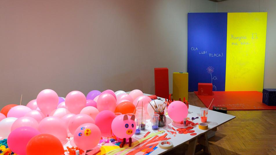 Raj dla Dzieci. Inspiracje, BWA Galeria Sztuki w Olsztynie, maj 2013, fot. Waldemar Szatkowski