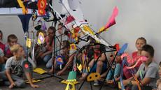 Mini Festiwal Rysunku Dziecięcego, Galeria Miejska Arsenał, Poznań czerwiec 2018, fot. Joanna Tekla Woźniak