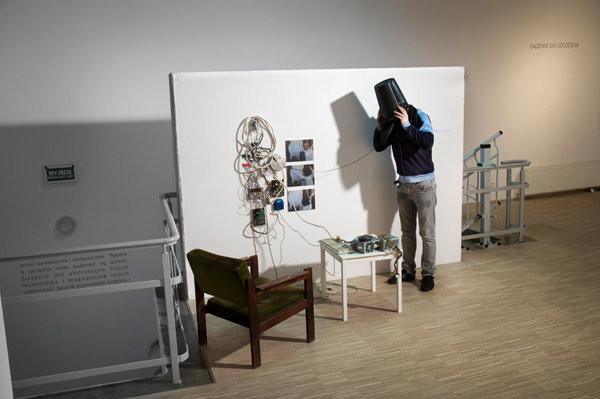 James C. Fagan, The Practical Time Travel Project, instalacja 2008- 2010, fot. Bartosz Górka