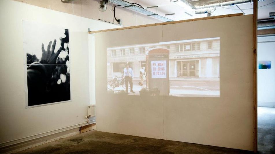 Dawid Misiorny, Erica Scourti, fotografia, wideo, Utrophia Project Space, Londyn czerwiec 2012