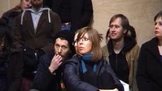 Publiczność podczas wystąpienia Moniki Karczmarczyk, Edynburg 2008, kadr wideo: Filip Szeszula