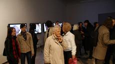 Piotr Żyliński, Taka Praca, wideoinstalacja 2010, fot. Charlie Coffey