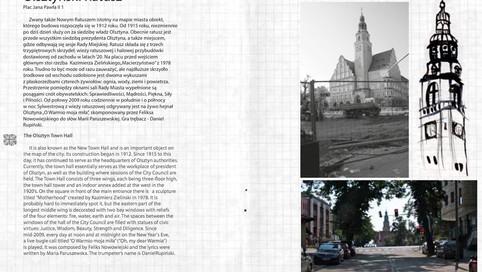 Niecodziennik Olsztyński, tekst i zdjęcia: Joanna Tekla Woźniak, okładka i ilustracje: Urszula M. Patalas