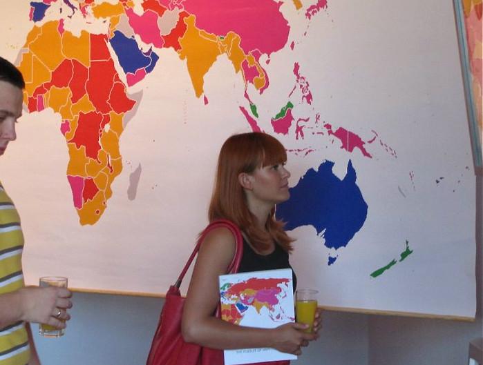 Publikacja W Poszukiwaniu Szczęścia/ The Pursuit of Happiness, prezentacja w Centrum Spotkań Europejskich Światowid, Elbląg Lipiec 2010