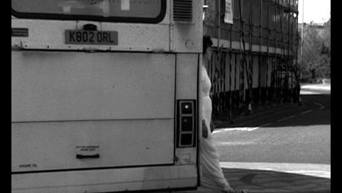 Roundabout, performance, kadr wideo, Totnes 2005, fot. Maria Vornicu