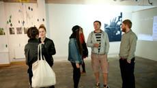 Wernisaż wystawy Communal Trees… to be continued, Utrophia Project Space, Londyn czerwiec 2012