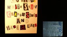 Tinsel Edwards, Paint Stuff Do Stuff, akryl na płótnie 2008, fot. Joanna Tekla Woźniak