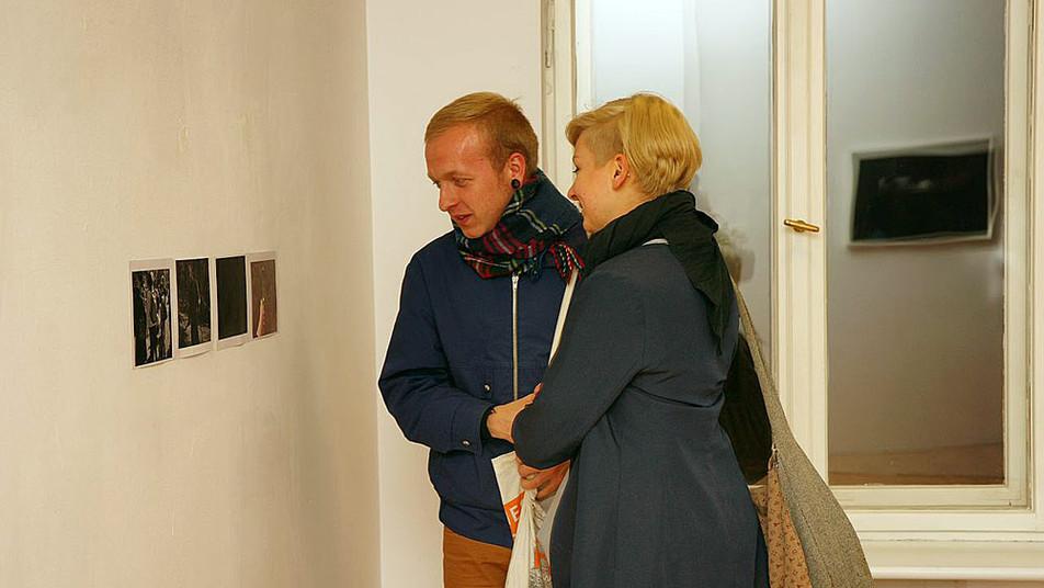 Filip Chrobak, fotografia, Poznańska Galeria Nowa, Poznań listopad 2011, fot. Anna Zdebska