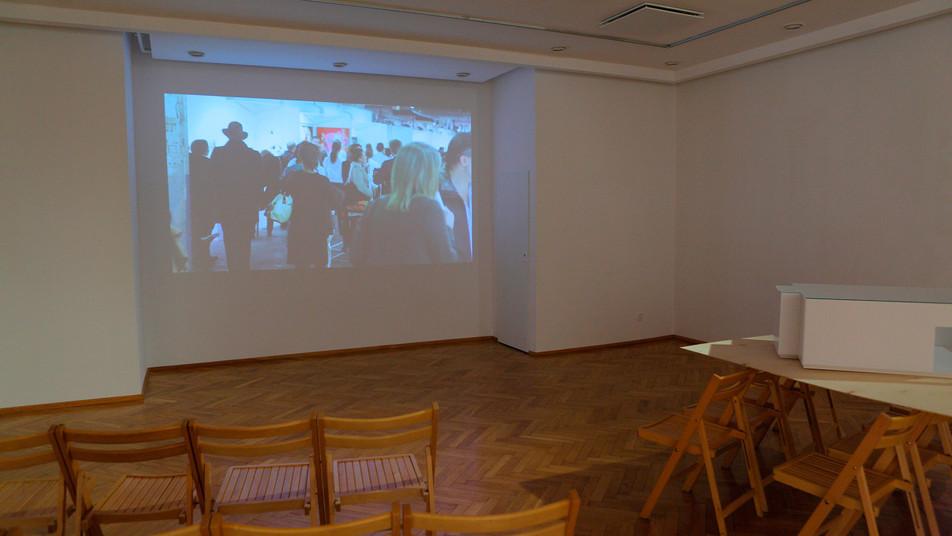 Justyna Scheuring, Przecież zupełnie nie wiem co będzie, BWA Olsztyn, wrzesień 2014, zdjęcie: Archiwum BWA