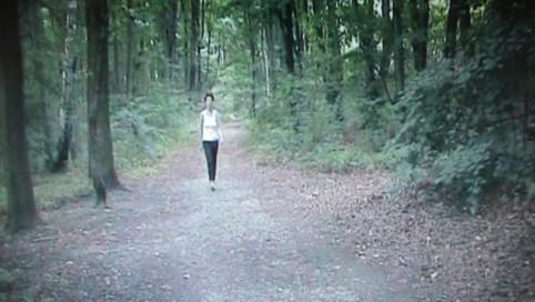 Joanna Tekla Woźniak, Zbieractwo, kadr wideo, Poznań wrzesień 2009