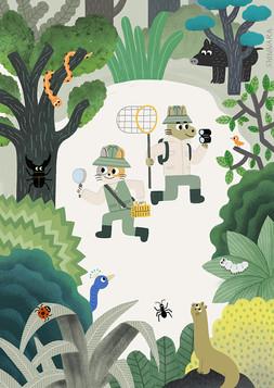 숲속 탐사대