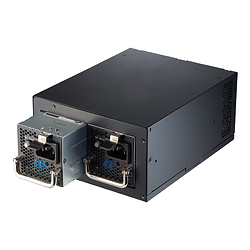 Twins PRO 700W Black redundant power supply unit with 80Plus Gold Efficiency for workstation, IPC