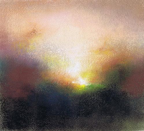 Spiralling Sunset- Mary Burtenshaw