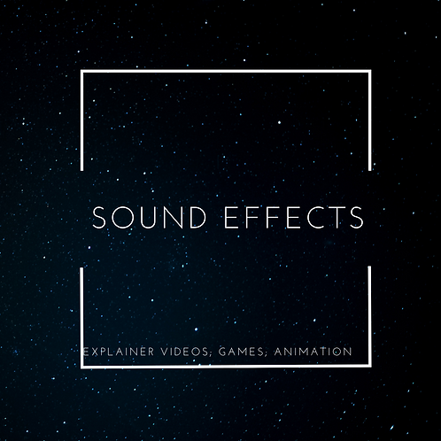 Product:  Sound Effects Pack