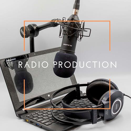 Short Course:  Radio Production
