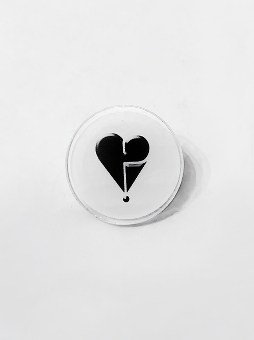 Harolds Heart pin