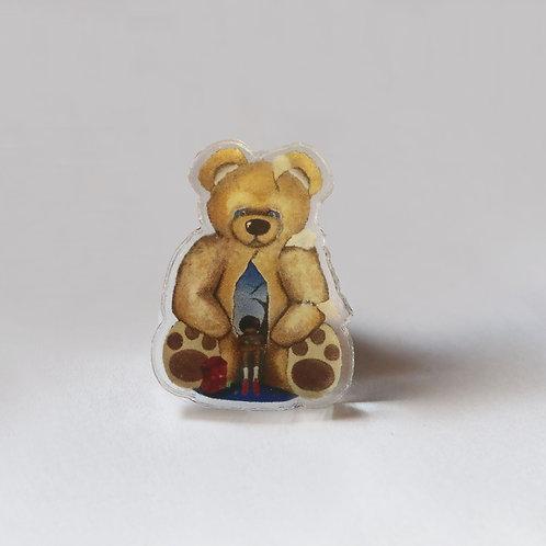 Teddy Dream Pin