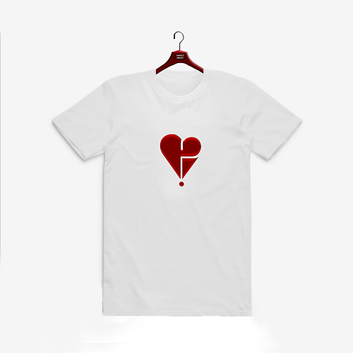 Main Heart Logo T Red