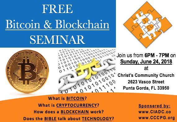 FREE Bitcoin & Blockchain SEMINAR