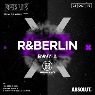 Friday 25th October @ BERLIN