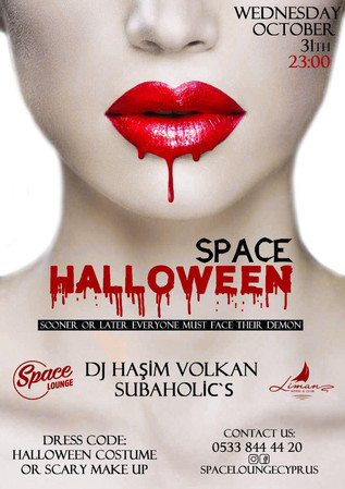 Halloween Special @ Space Lounge / Kyrenia