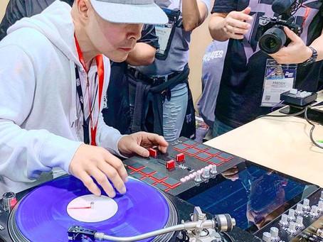 "Qbert's ""No Laptop Needed"" Invader DJ Mixer Reappears At NAMM 2019"